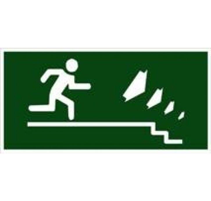איש רץ ימינה למטה מדבקה