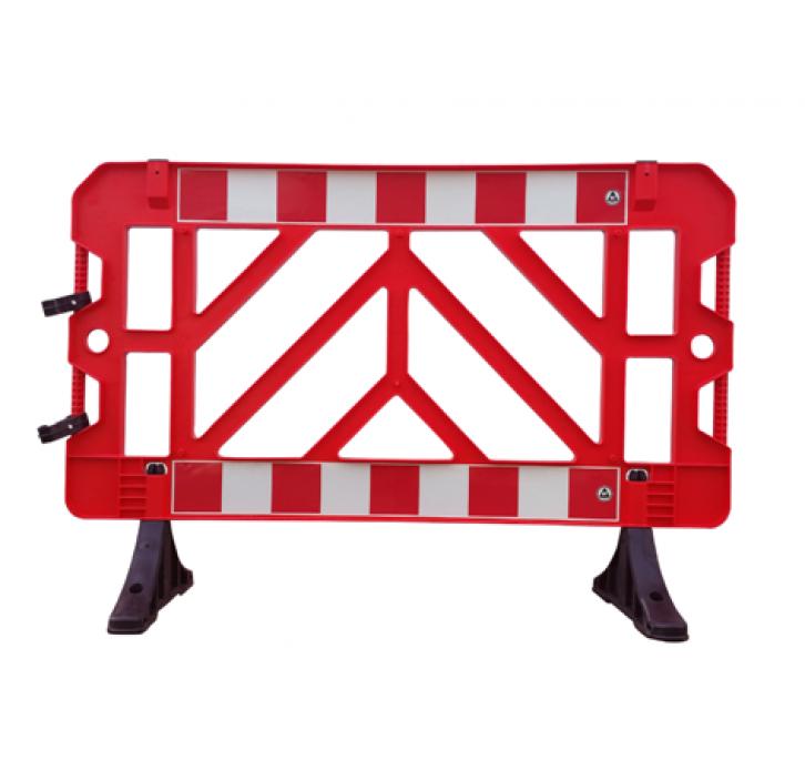 גדר מודולרית מחסום נייד לעבודות