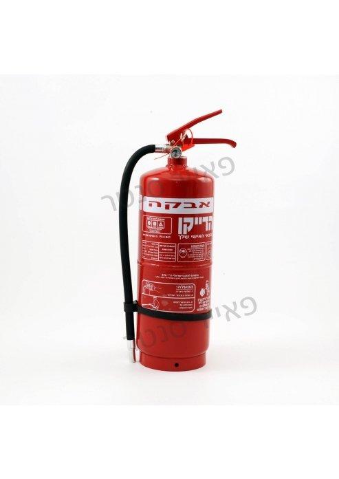 מטפה כיבוי אש 6 קילו גרם אבקה