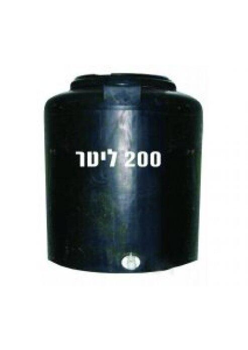 מיכל מים 200 ליטר למקלט