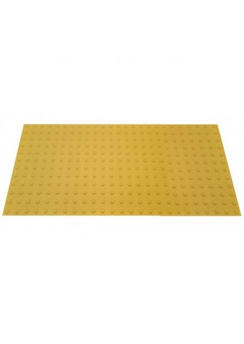 משטח נגישות טקטילי פולימרי צבע צהוב