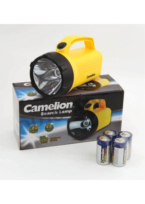 פנס LED רנאור עם 4 סוללות