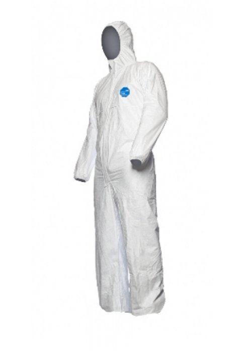 חליפת מגן חד פעמית מחומרים ביולוגים וכימים Tyvek