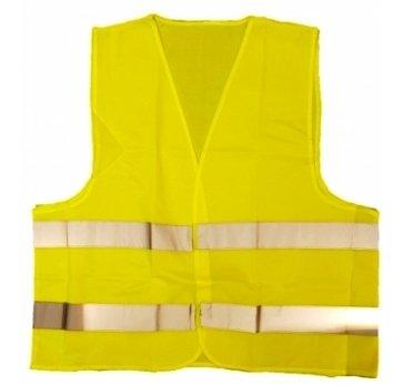 אפוד צהוב תקני לרכב