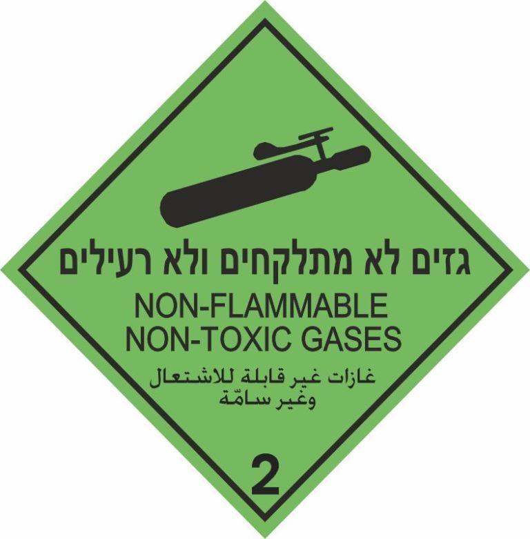 גזים לא מתלקחים ולא רעילים