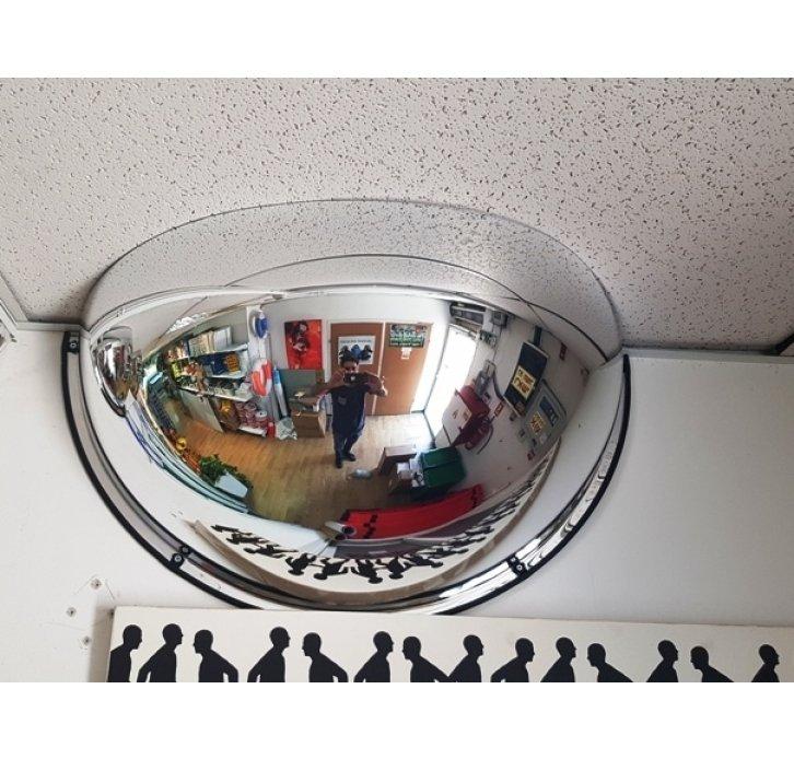 convex mirror מראה פנורמית